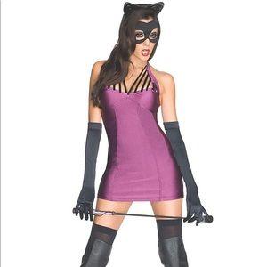 Cat Woman Super Villains Costume